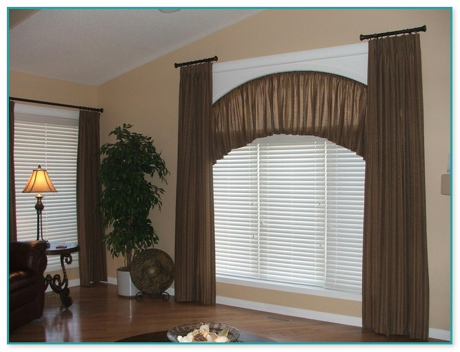 arched or curved window curtain rod canada