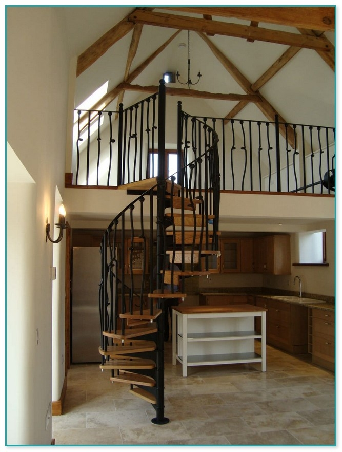 Spiral Staircase Loft Conversion | Spiral Staircase Into Loft | Loft Conversion | Small Spaces | Tiny House | Space Saving | Staircase Design