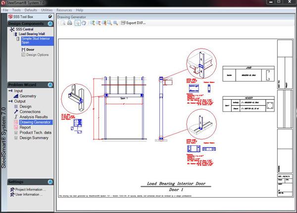 Layout Generator - Cold Formed Steel Design Software & Training