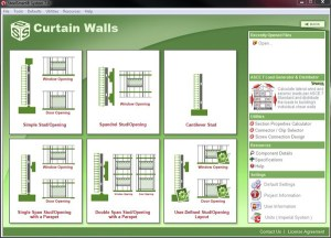 Curtain Wall Design Module