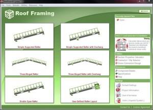 Light Gauge Steel Roof Framing Design Software