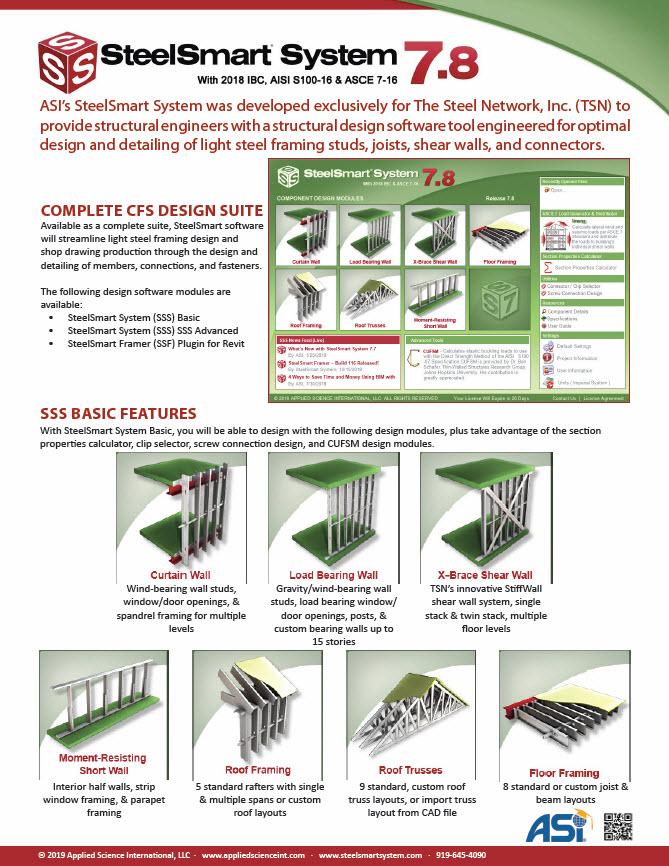 Load Generator - Cold Formed Steel Design Software & Training