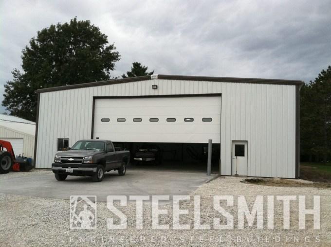 agricultural storage steel building