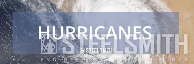Steel Building in Hurricane