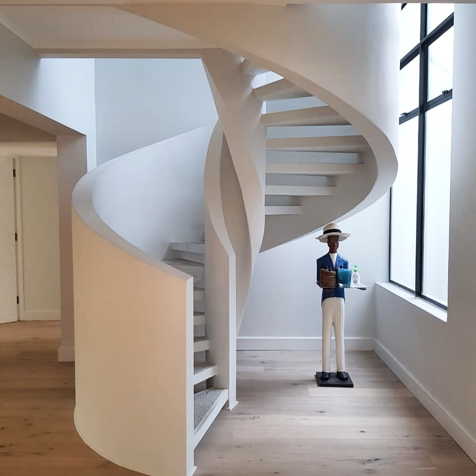Elegant Spiral Staircase Ideas That Will Transform Your Home   Spiral Staircase Design For Small Spaces   Diseños   Cool   Tiny House   Attractive   Beautiful