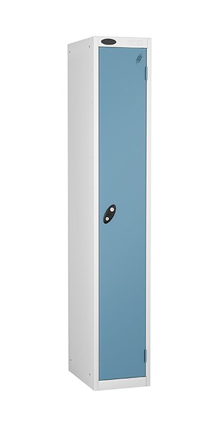 probe 1 door steel locker ocean blue