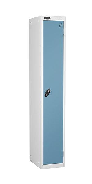 probe 1 door steel locker ocean blue