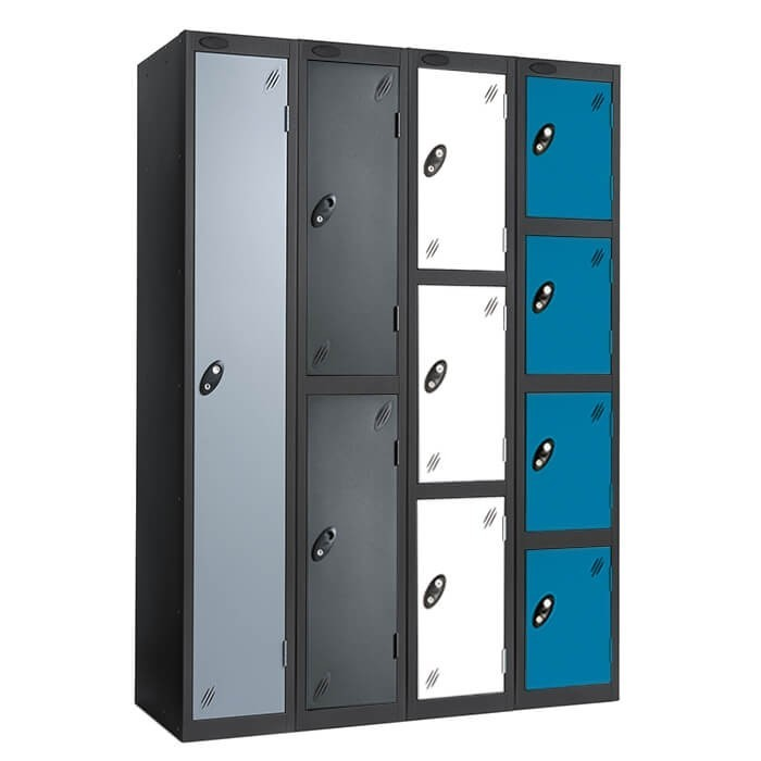 black_activecoat Probe steel lockers for schools | lockers for colleges | lockers for public areas