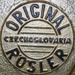 Het Rösler logo uit de tijd achter het ijzeren gordijn