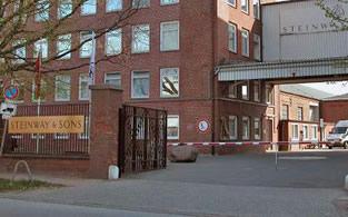 Steinway & Sons Fabriek in Hamburg