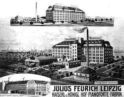 Feurich Fabriek voor Piano's