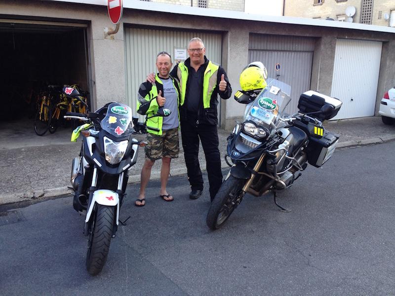Team Rynkeby Trekanten 7 Etape Compi 233 Gne Paris Steens Garage