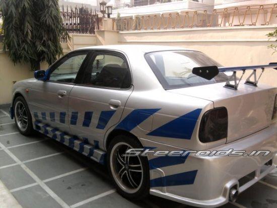 Custom Car Seats >> 2 Fast 2 Furious style - Modified Suzuki Baleno