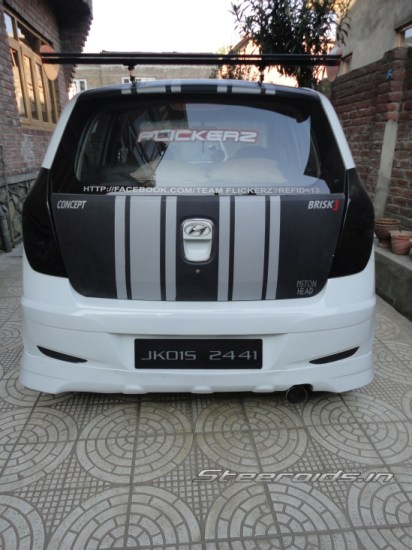 Modified Hyundai I10 From Kashmir