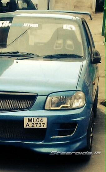 Modified Martuti Suzuki Alto