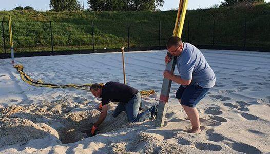 We mogen het zand weer in!