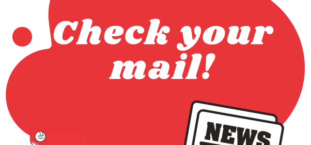 Check your mail!