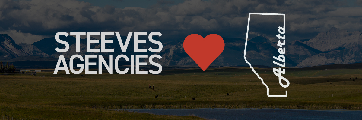 Steeves Agencies LOVES Alberta