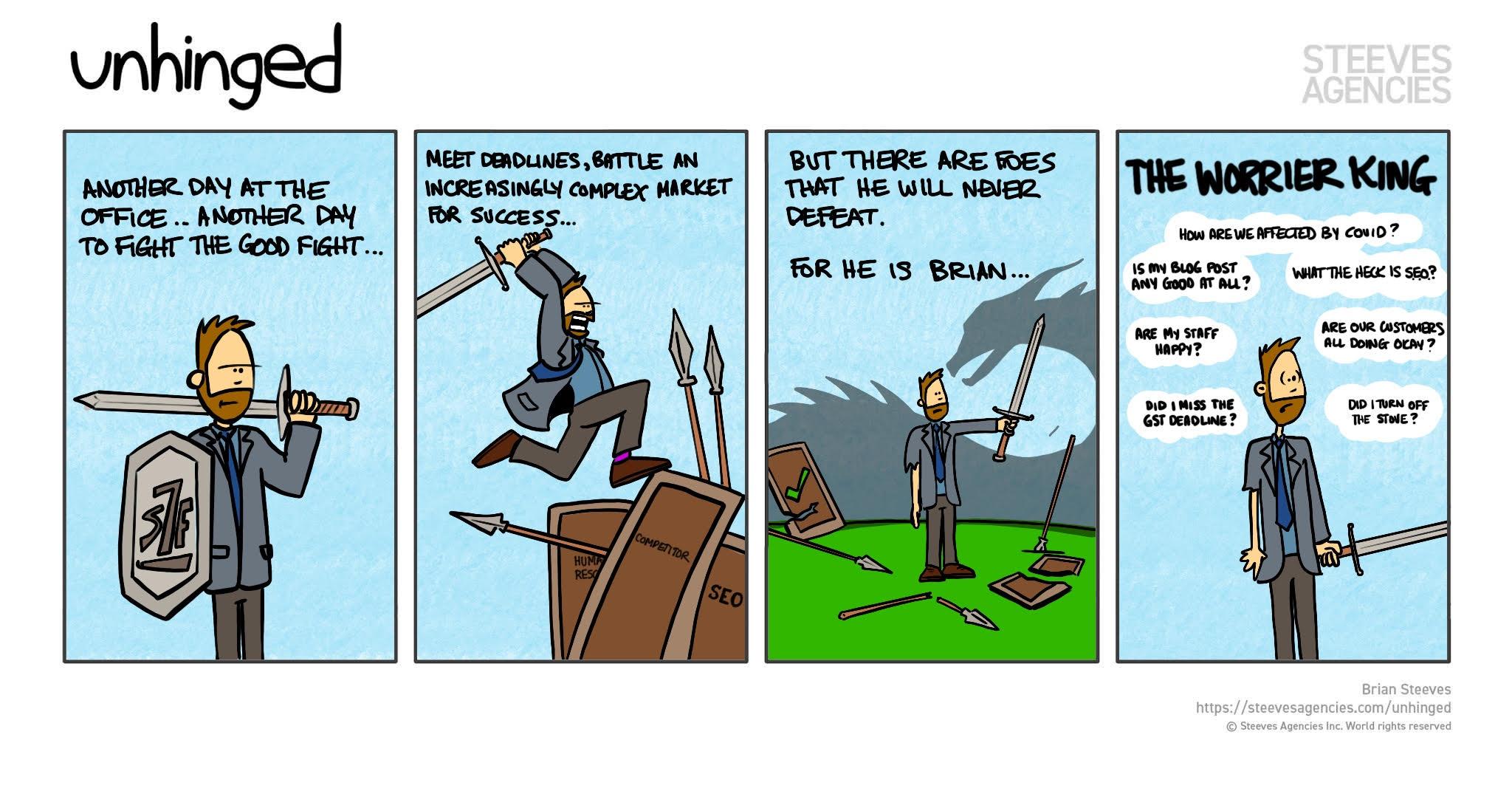 unihinged comic strip