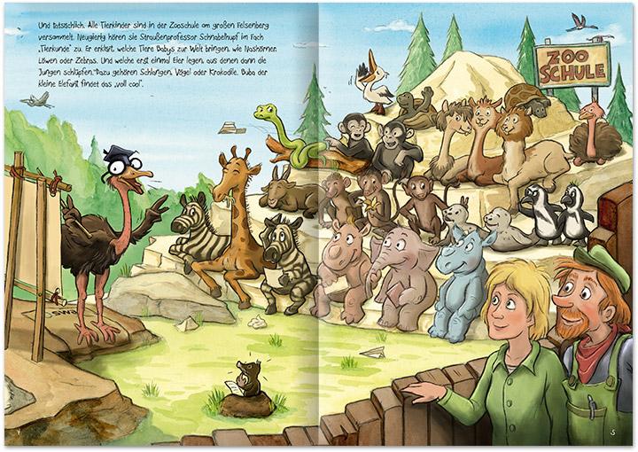 bilderbuch-illustration--buba-und-das-blaue-nashorn--schule