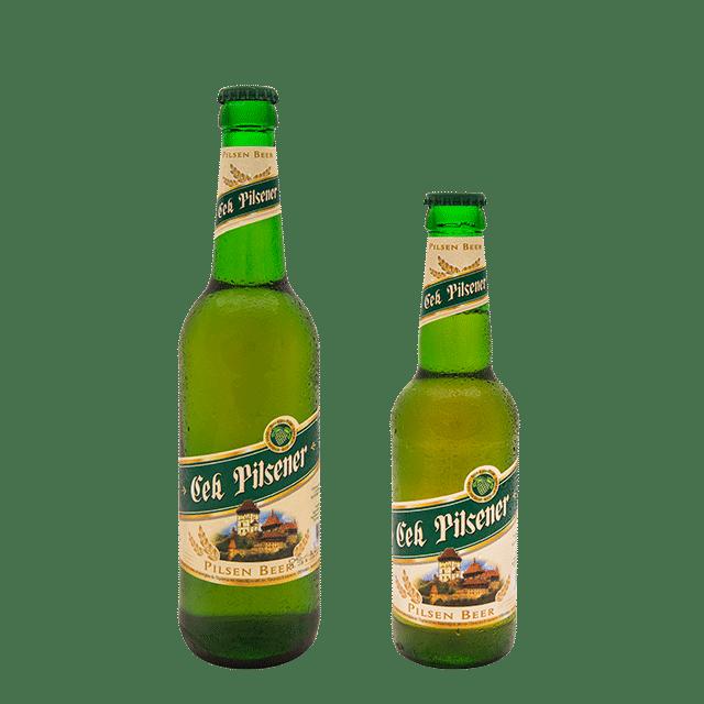 Cek Pilsener 0.5L dhe 0.33L