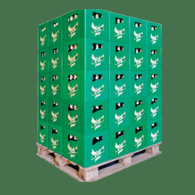 Paletë arka me 60 koli x 24 copë x 0.33L ose me 50 koli x 20 copë x 0.5L