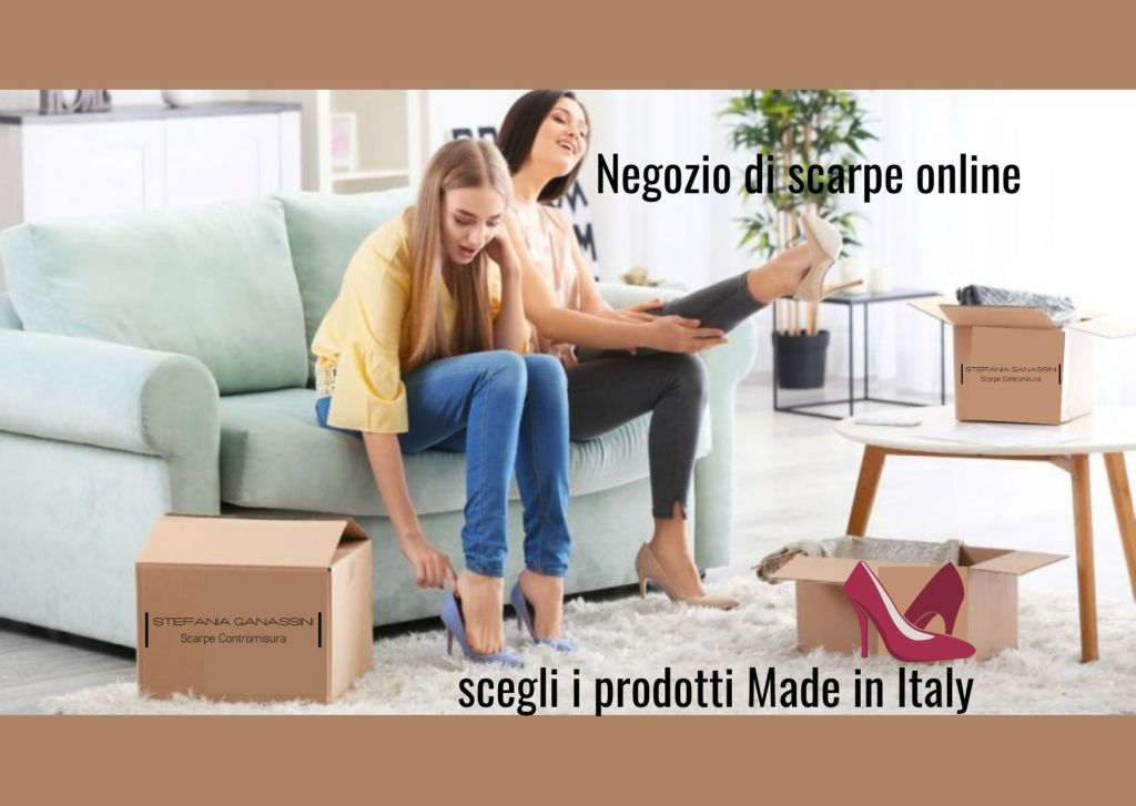 Online shoe shop: choose Made in Italy products