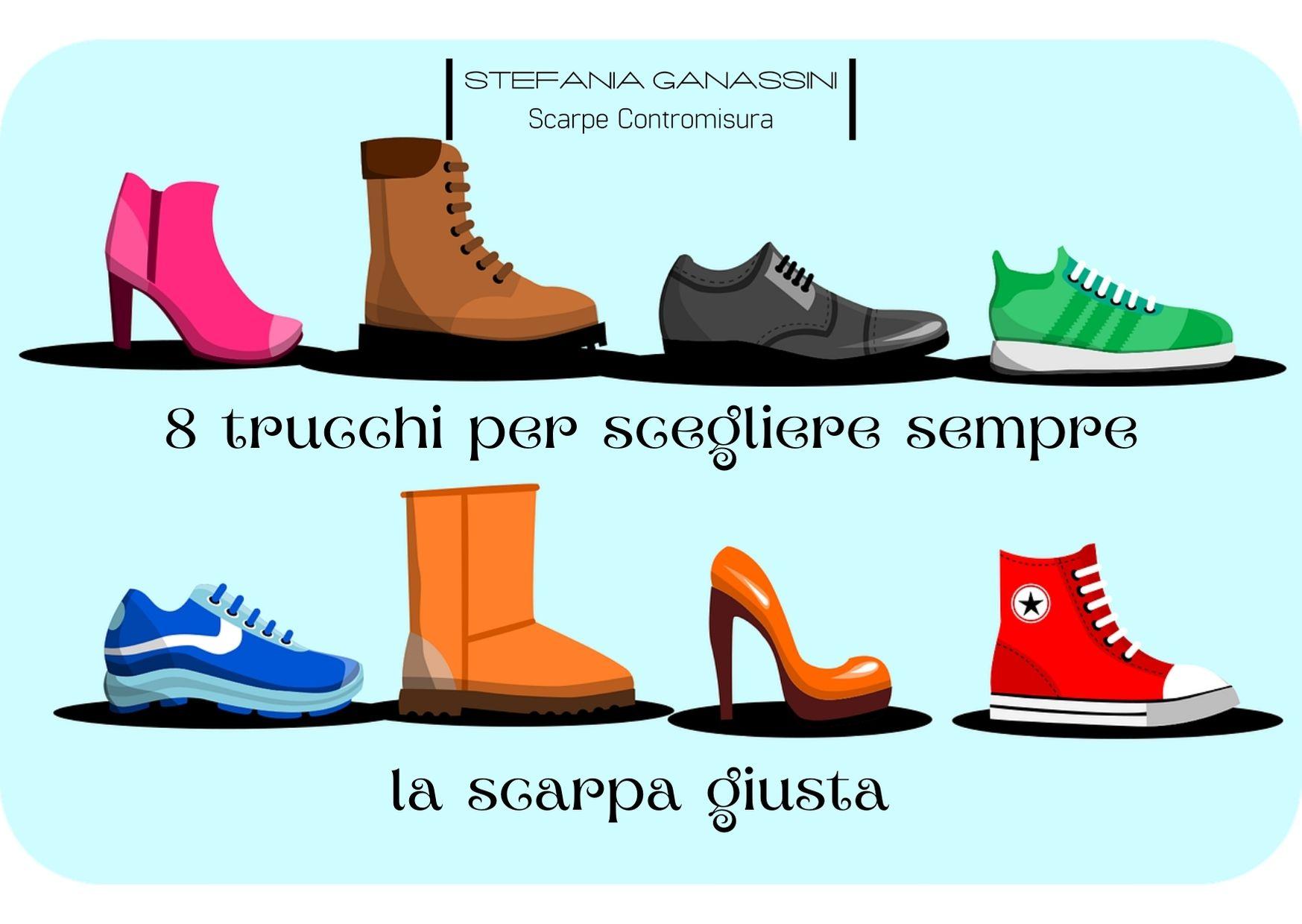8 trucchi per scegliere sempre la scarpa giusta