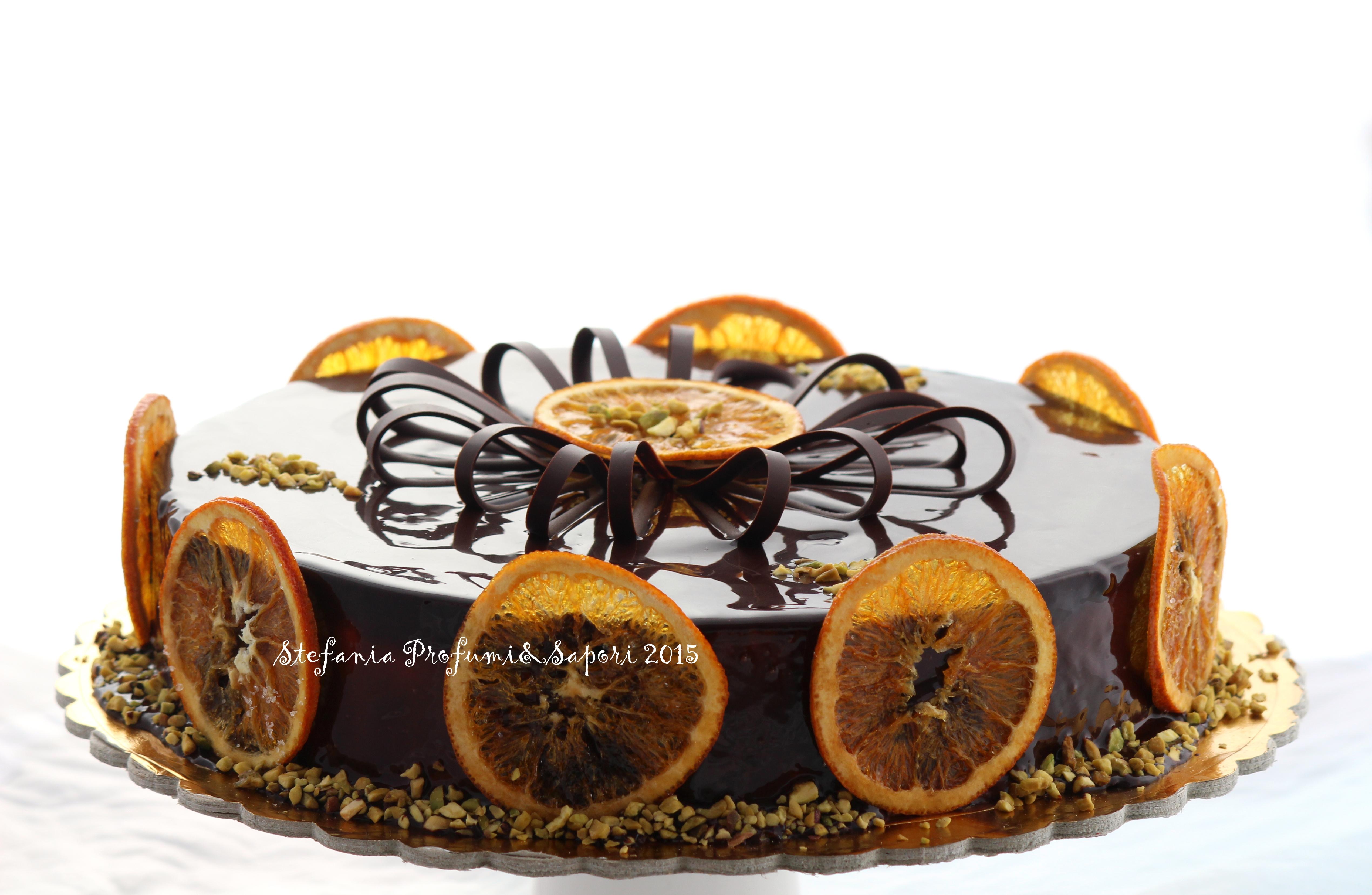 Tronchetto Di Natale Luca Montersino.Torta Chantilly Al Grand Marnier Pistacchio E Cioccolato Di Luca