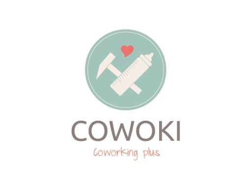 Cowoki Coworking plus // Logo, Visitenkarte, Briefbogen, Flyer, Aufkleber, Website