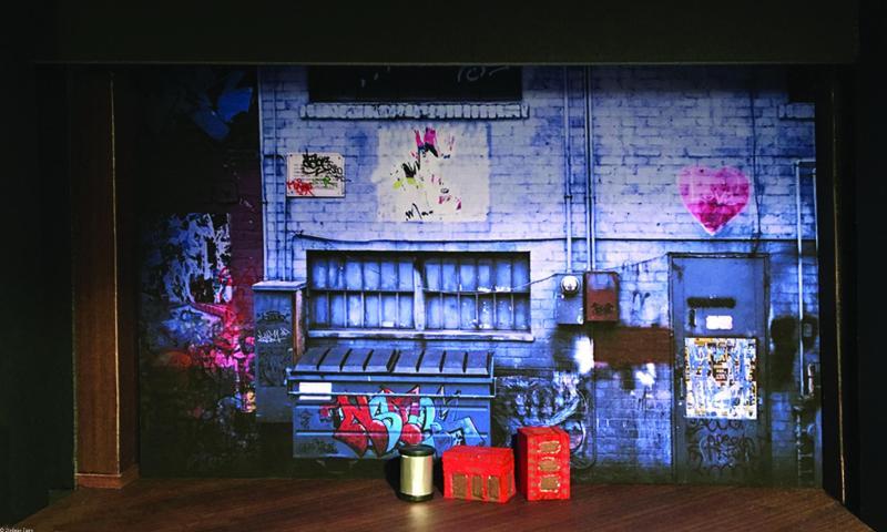 Maquette - Nuit d'Ivresse - acte de transition
