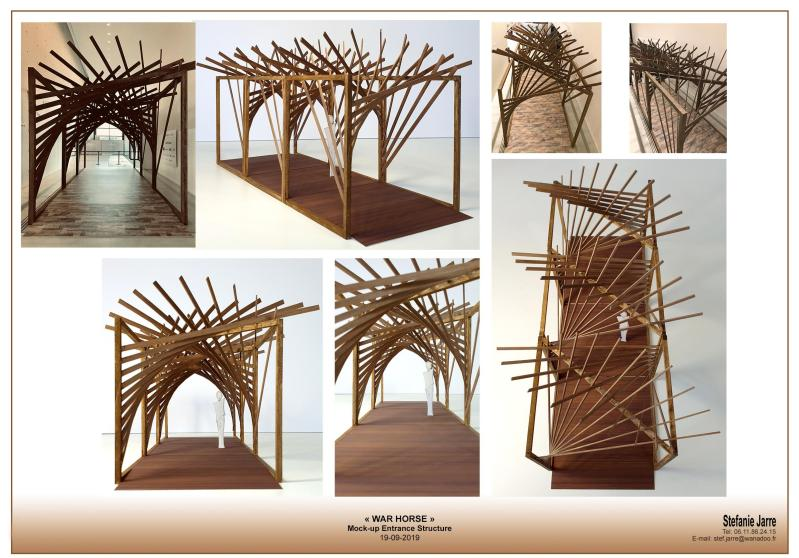 Maquette Tunnel - War Horse