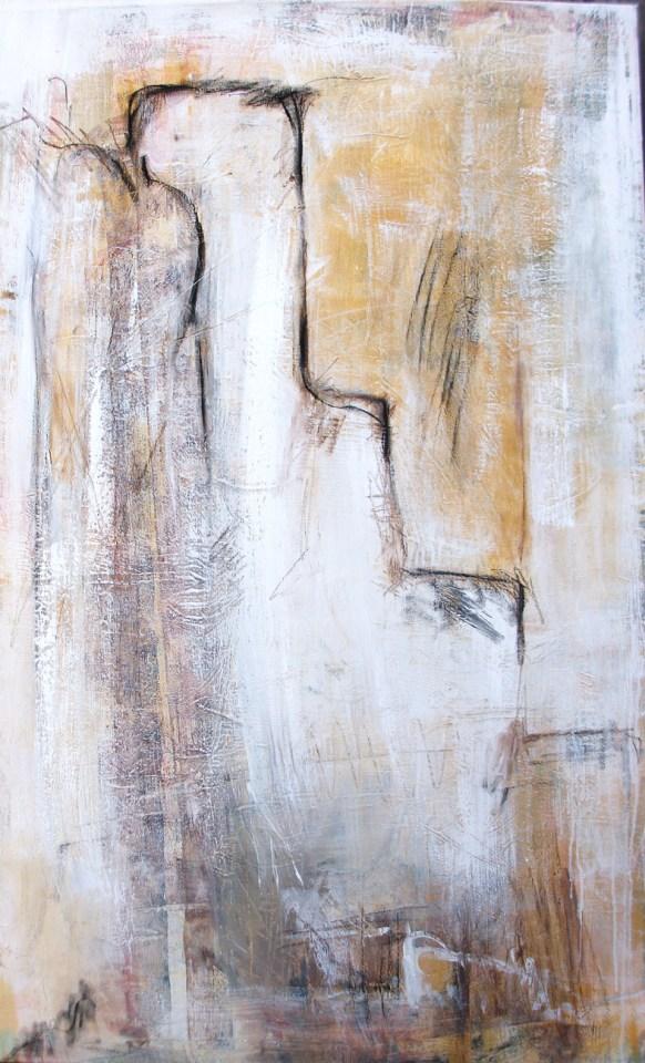 Abstrakte Malerei auf Leinwand,
