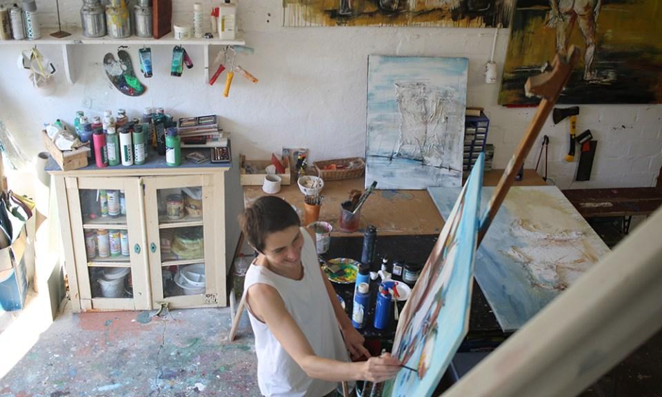 Atelier von Stefanie Rogge