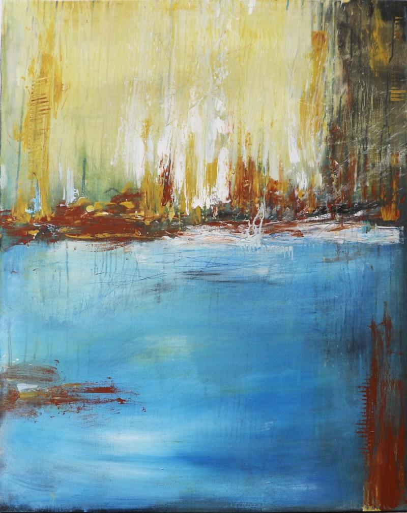 Acrylbild 80 x 100 cm, contemporary art, abstrakte malerei