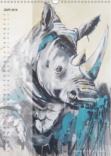 Motiv Rhino 2 Kalender