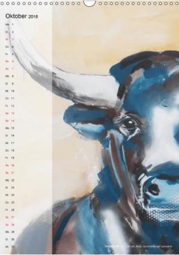 Motiv Taurus 2 Kalender