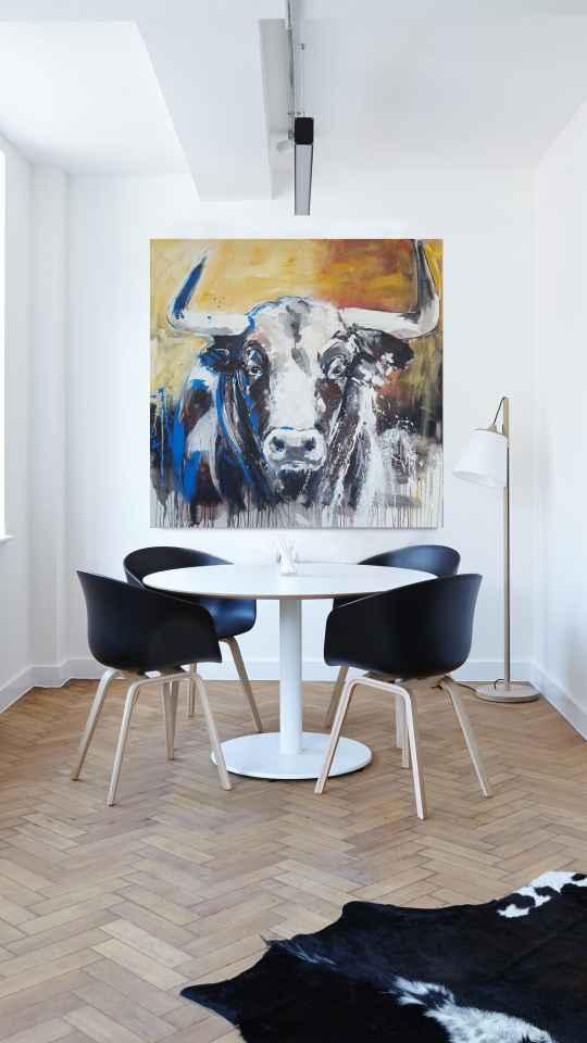 Kunst im Raum, Stierportrait
