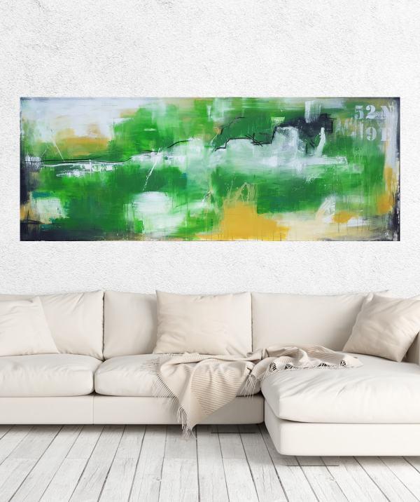 Stefanie Rogge, große Landschaftsmalerei