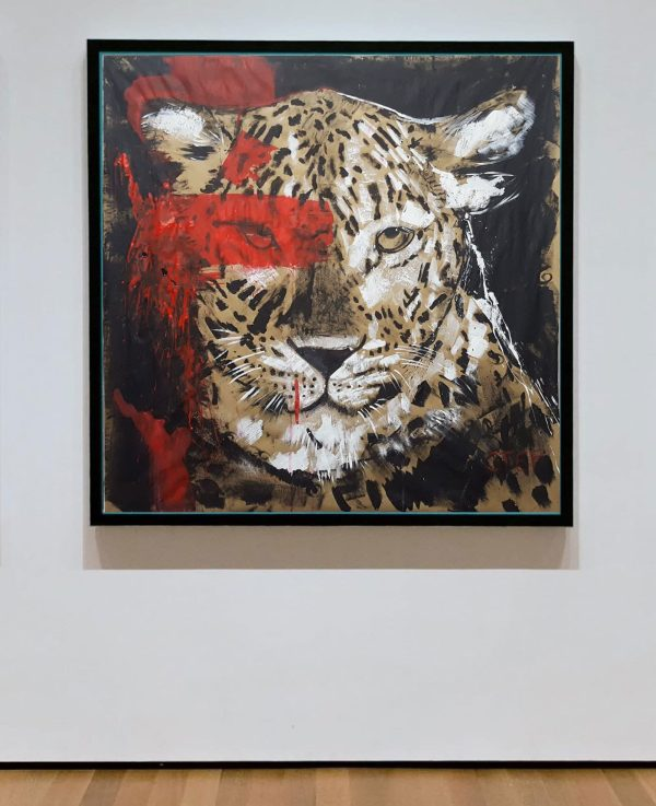 Leopard, moderne Kunst