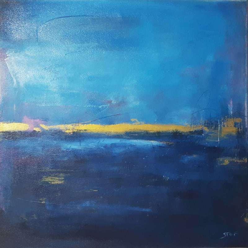 abstrakte Malerei maritim