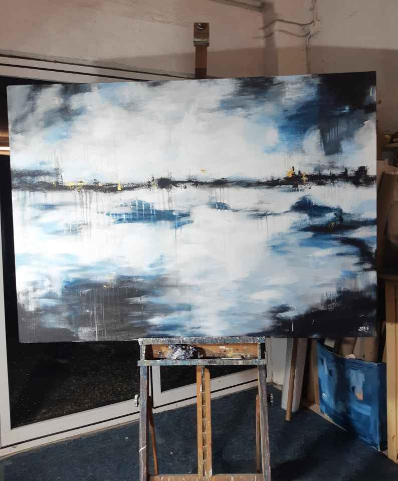 Im Atelier von Stefanie Rogge