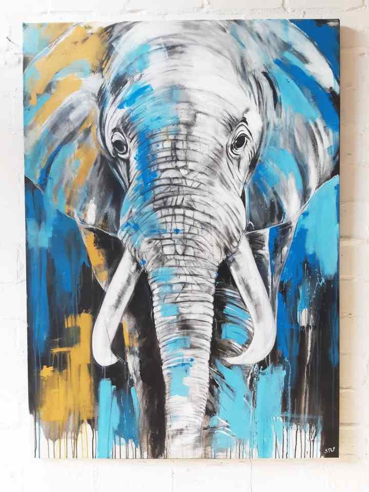 Elefant XXL Gemälde kaufen