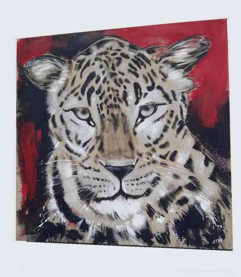 Leopard Gemälde