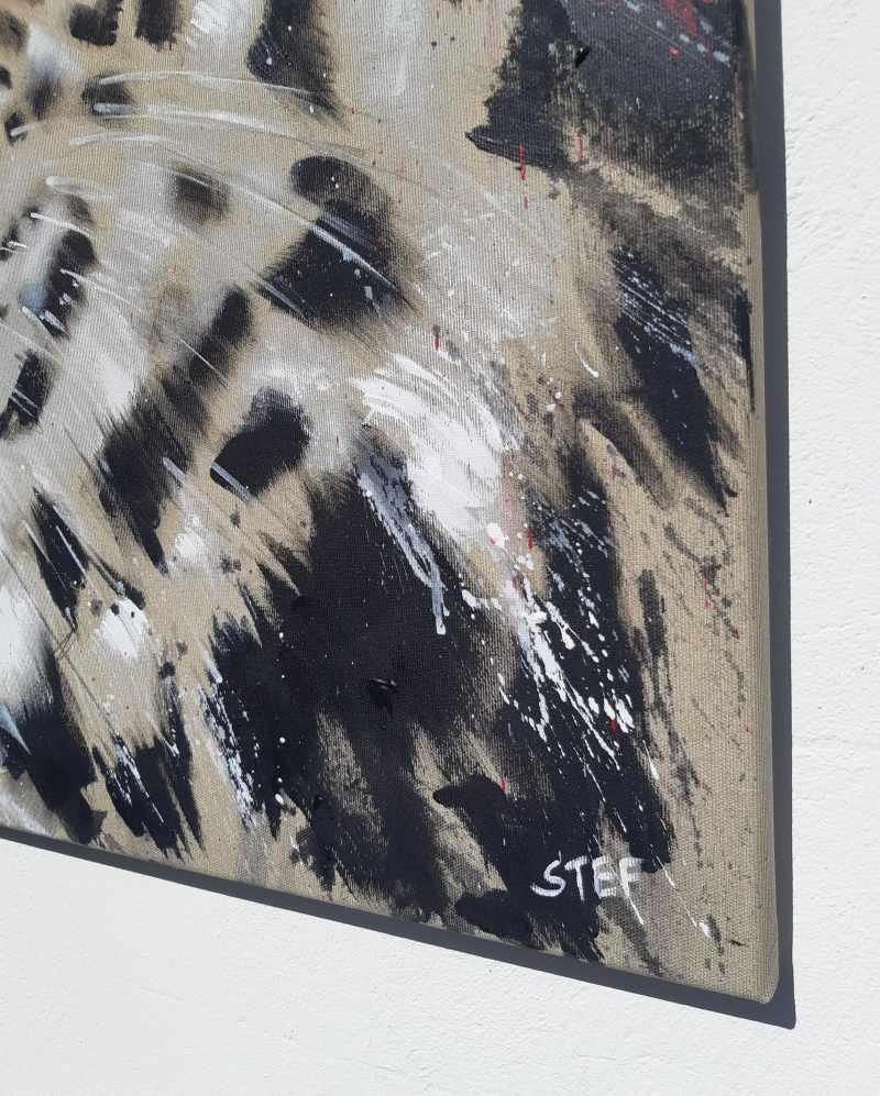 Detail Gemälde von Stefanie Rogge