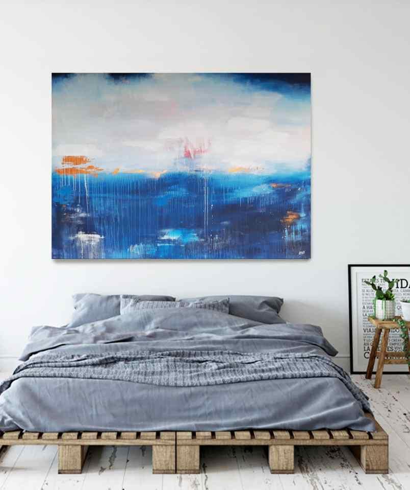 großformatige maritime Kunst von sStefanie Rogge