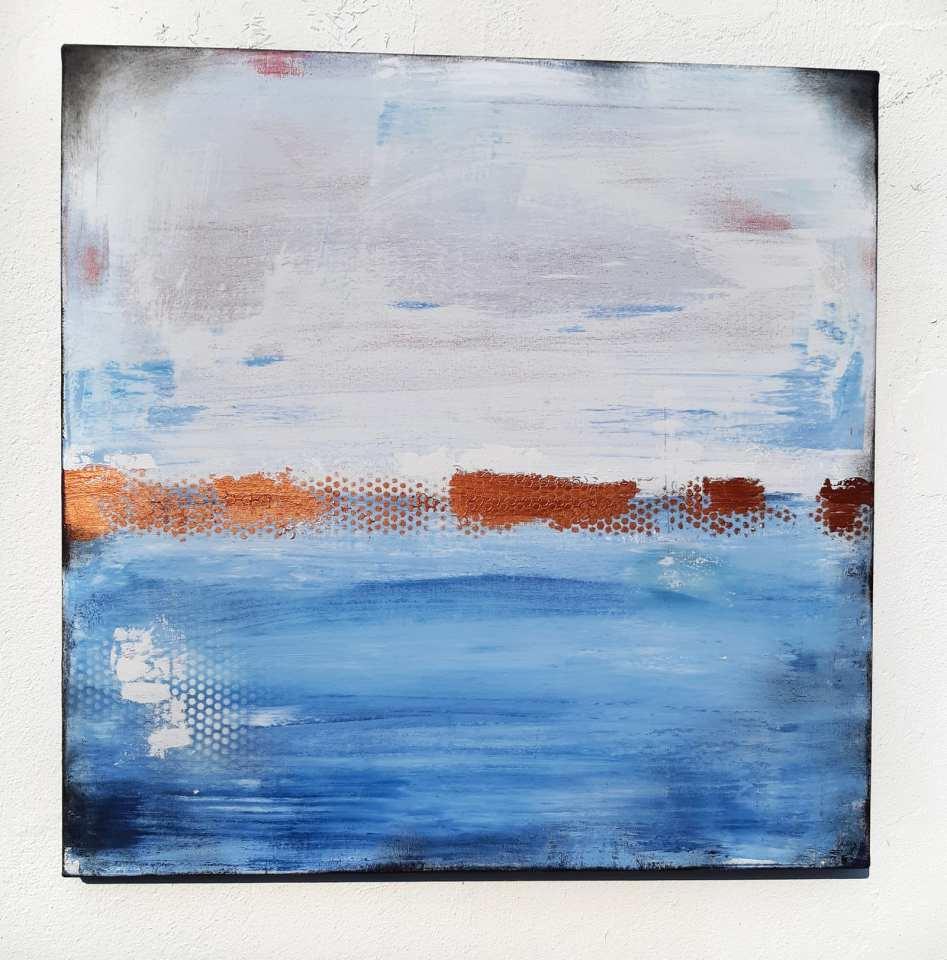 Küstenlicht Gemälde von Stefanie Rogge