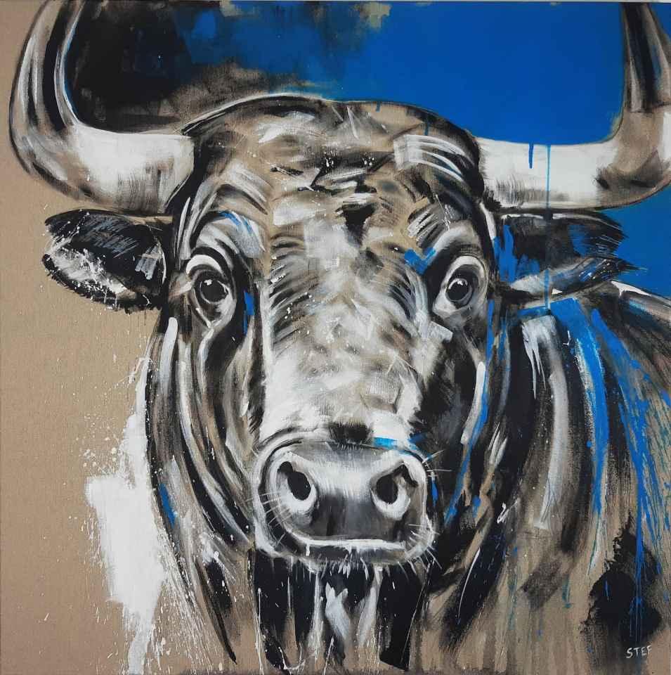 Gemälde Stier Taurus