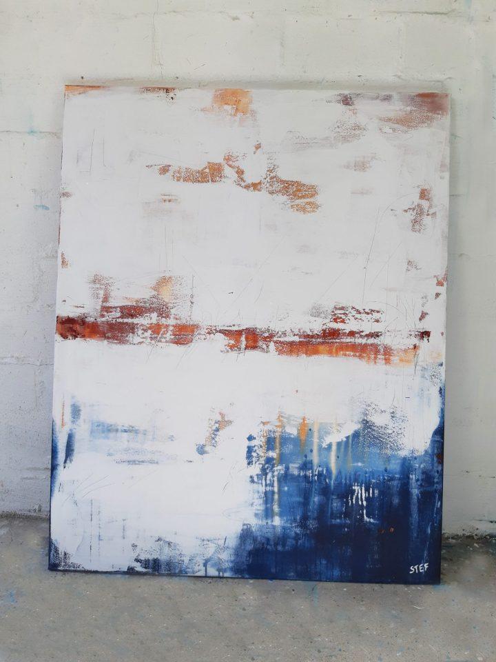 Acrylbild abstrakt modern