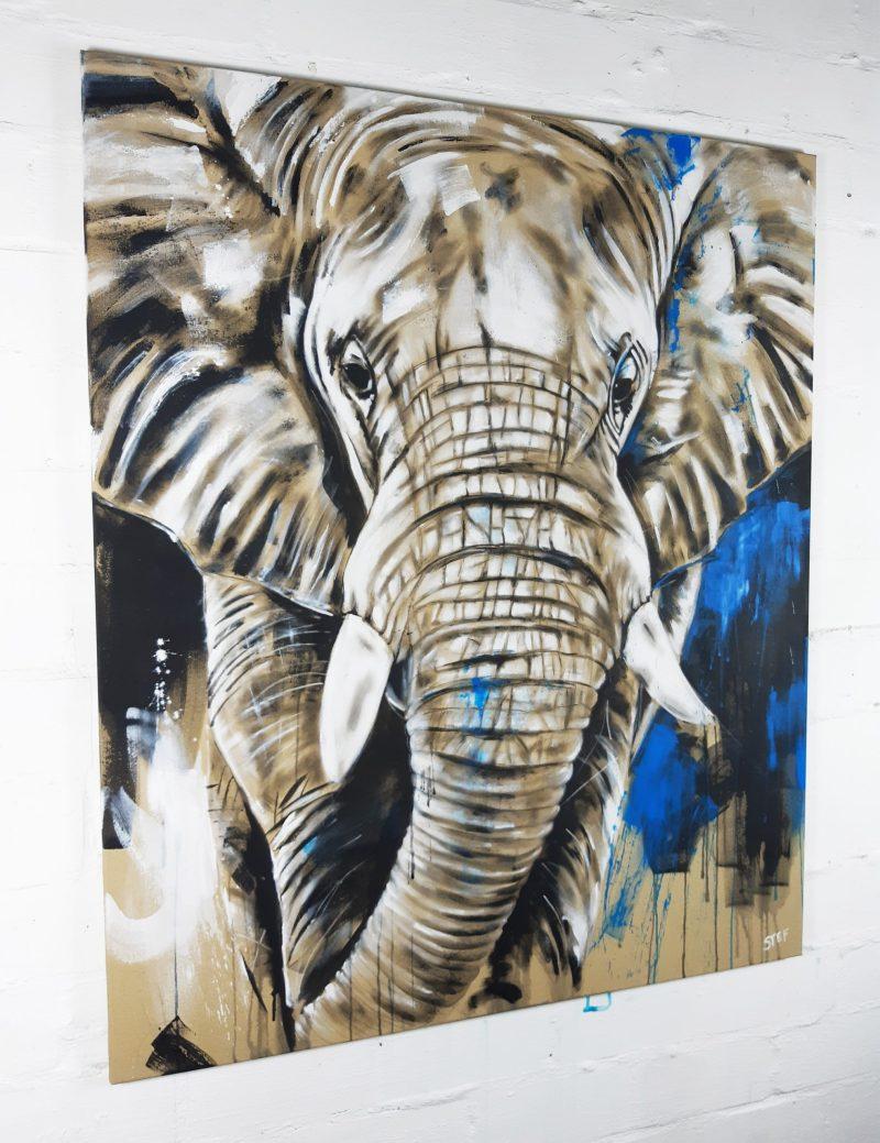 Original Unikat Elefant #16